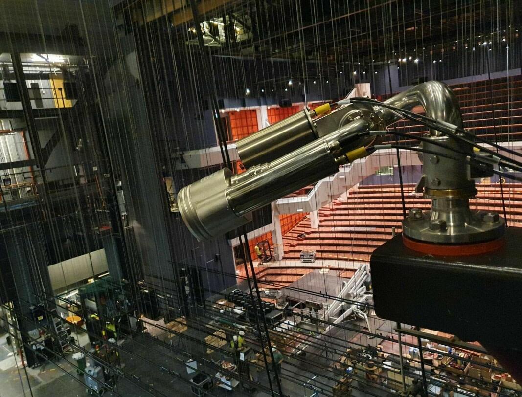Unifire FlameRanger Protects Olav Concert Hall