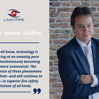 LASH FIRE Meet the Partners Interview of Roger James of Unifire