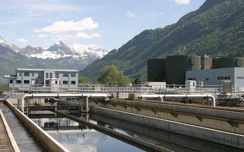Waste Water and Sewage wash down solutions by Unifire AB of Sweden