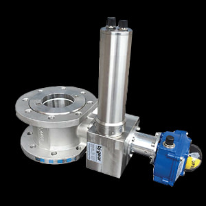 """3"""" inch valve and actuator with BLDC motor for Unifire Force monitors"""