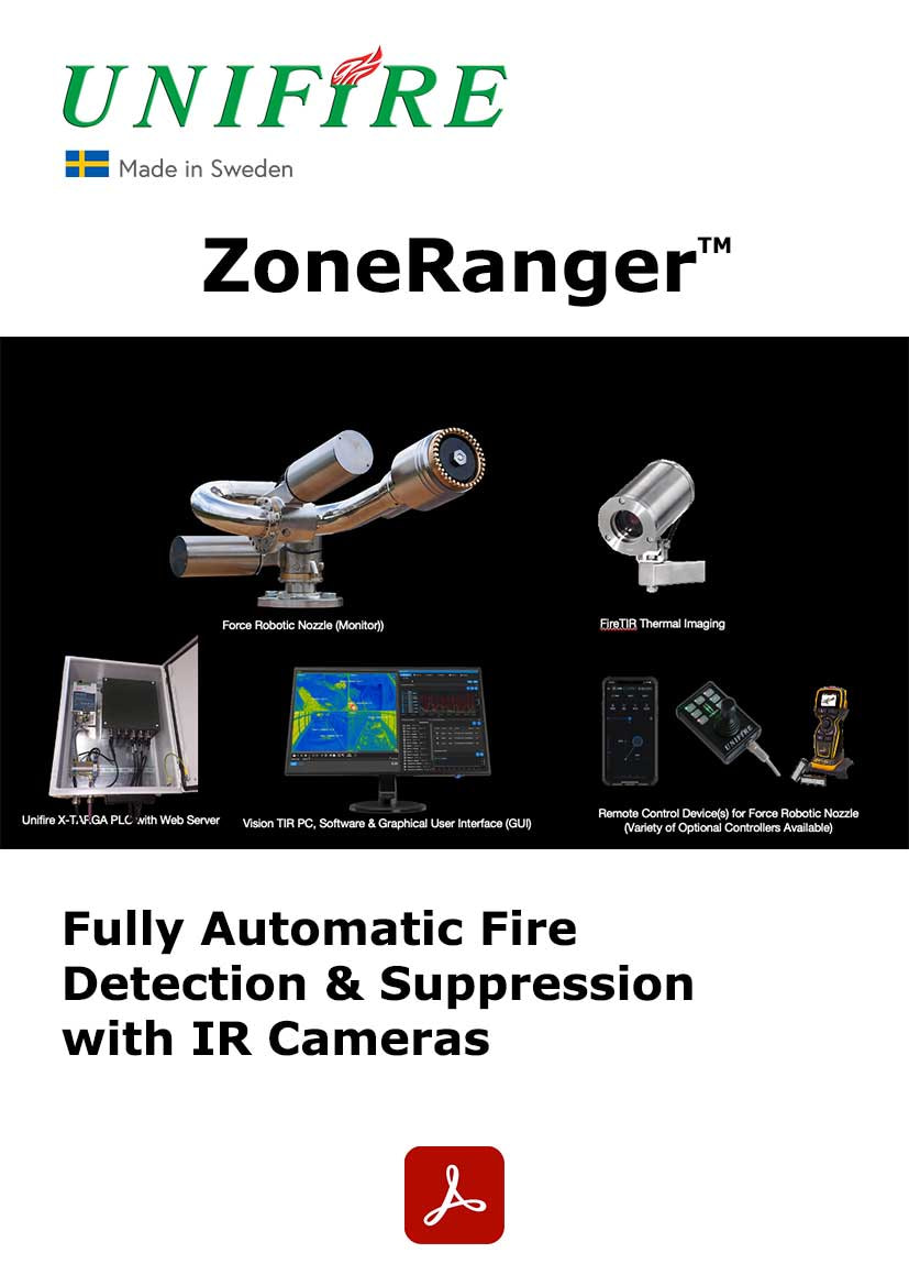 ZoneRanger Automatic Fire Monitors with Thermal Imaging Cameras
