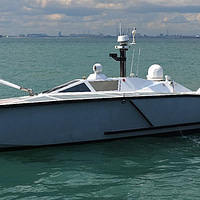 FORCE50 on Zycraft Unmanned Surface Vessel USV