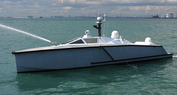 FORCE50 on Zycraft Unmanned Surface Vessel USV